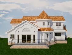 45평 청양화성 목조주택